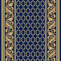 Ковровая дорожка Витебские ковры Версаль синий от магазина Carpet-Center.ru | Интернет-магазин carpet-center.ru
