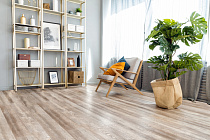Виниловый ламинат Alpine Floor Real Wood ECO2-10 Дуб Carry от магазина  Carpet-Center.ru